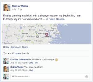 Salsa with stranger